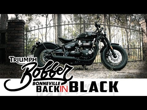 Triumph Bobber Black Test Ride Review