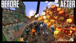 I invited 100 random people into my Minecraft World.. (Here's what happened)