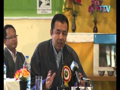 Health Kalon Dr. Tsering Wangchuk speaks at TMS Meeting/Workshop- December 07, 2015
