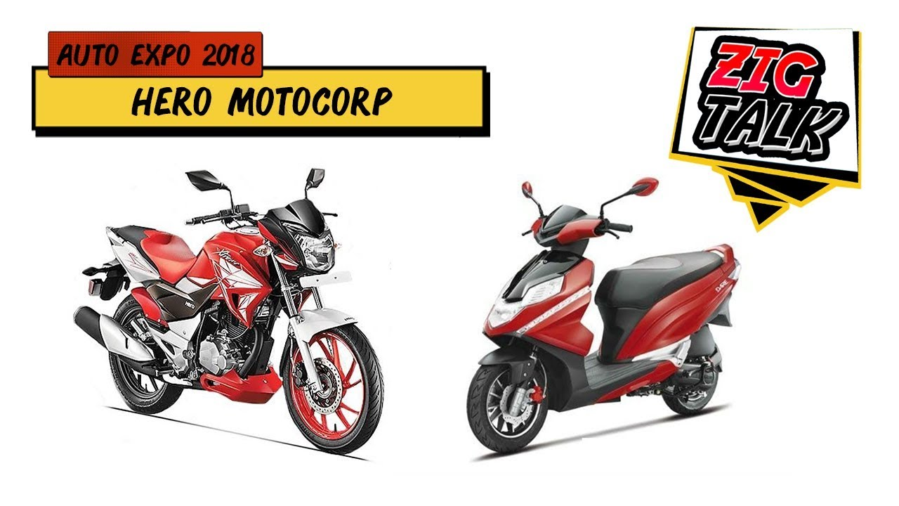 Hero MotoCorp @ Auto Expo 2018: What To Expect | ZigTalk | ZigWheels com