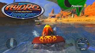 THIS GAME IS SO FUN! - Hydro Thunder Hurricane Online Multiplayer Races