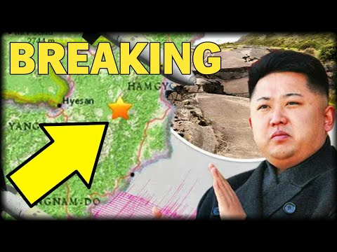 BREAKING: EARTHQUAKE STRIKES NORTH KOREA TRIGGERING HORROR THAT KIM JUST DID THE UNTHINKABLE