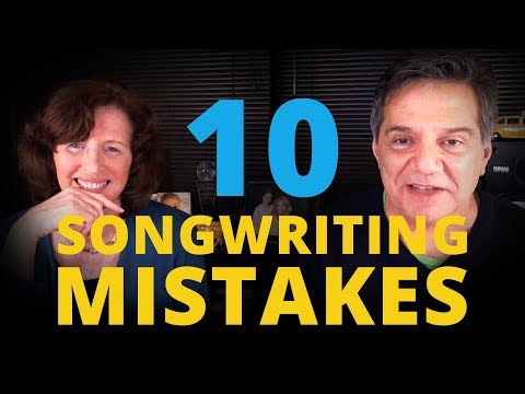 10 Mistakes Songwriters Make with Robin Frederick