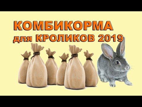 ОБЗОР КОМБИКОРМОВ ДЛЯ КРОЛИКОВ 2019