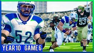NCAA Football 14 Dynasty Year 10 - Game 6 @ Colorado | Ep.176