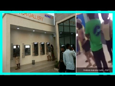 [NG News] Access bank reacts to pornographic movie displayed on its atm gallery in unilag [photos]