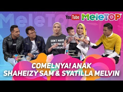 COMELNYA! anak Shaheizy Sam & Syatilla Melvin | Syeriv Samheizy