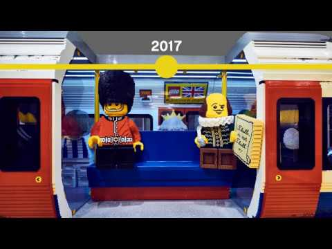 The evolution of LEGO® trains