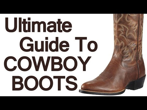 89aa61434c1 How To Wear Cowboy Boots | Ultimate Guide To The Western Boot