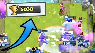 Clash Royale - 5,000 TROPHIES!