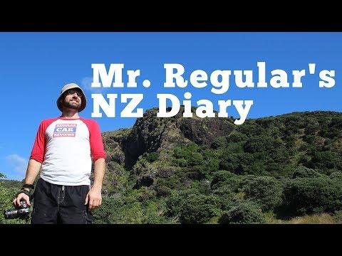 Mr. Regular's New Zealand Diary