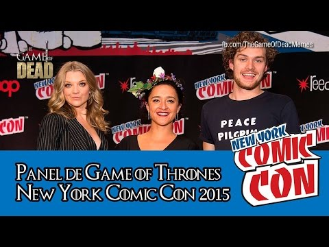 Game of Thrones   Panel Comic Con New York 2015 (Subtitulado)