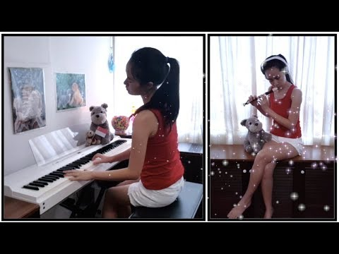 Kit Chan - Home | Singapore NDP 1998 | Recorder / Piano Cover by Elizabeth