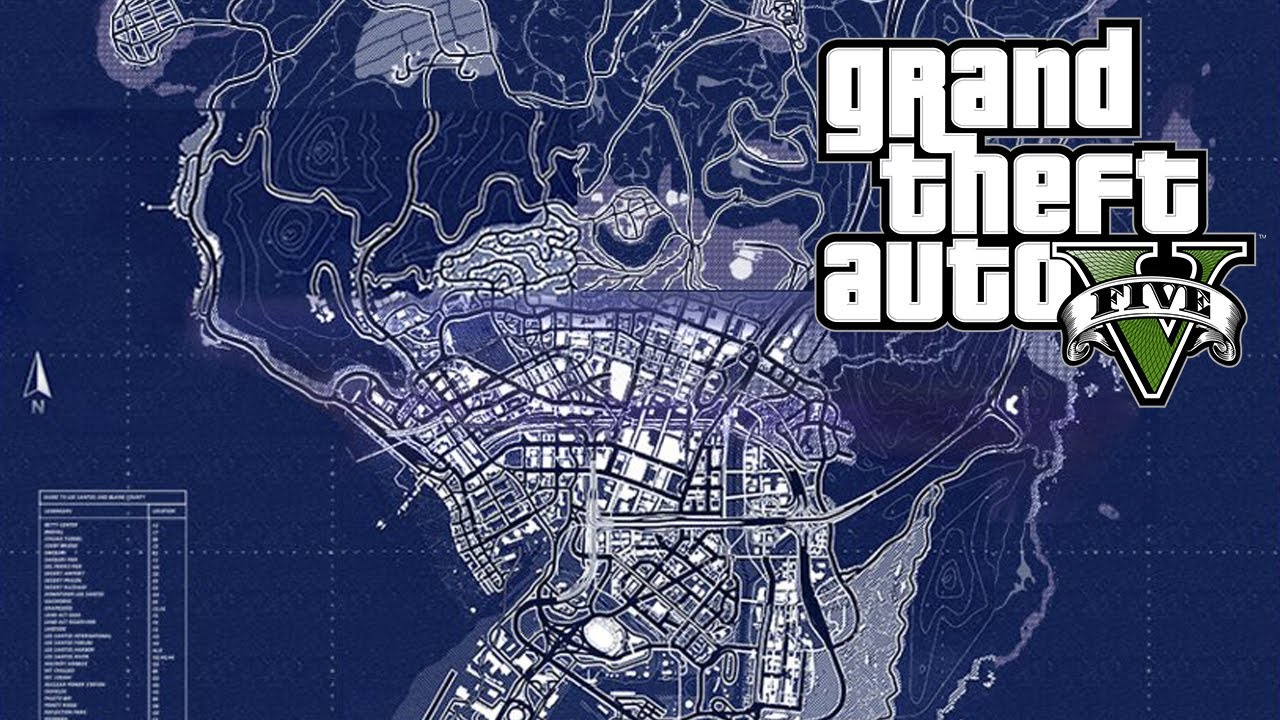 Gta 5 Map Size Scale And Perspective Gta V Youtube