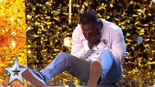 Download Comedian Kojo gets Simon's GOLDEN BUZZER | Auditions | BGT 2019 Mp3 and Videos
