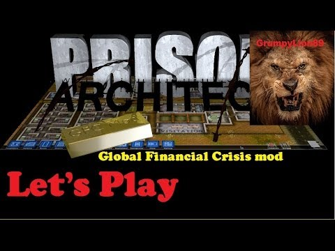 Let's Play Prison Architect Global Financial Crisis Mod ep. #2