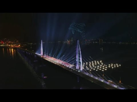 Drones, self-driving vehicles shown at CCTV gala