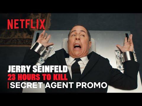 Jerry Seinfeld: 23 Hours to Kill | Secret Agent Promo | Netflix