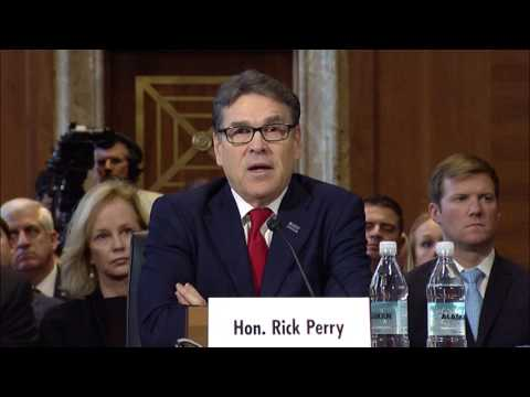 Sen. Cantwell Questions DOE Nominee Rick Perry on Nuclear Waste in Washington