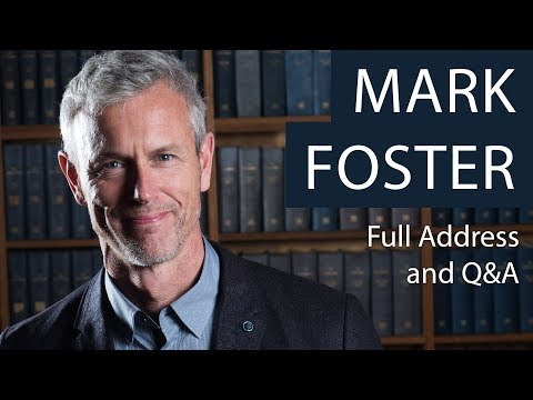 Mark Foster | Full Talk and Q&A | Oxford Union