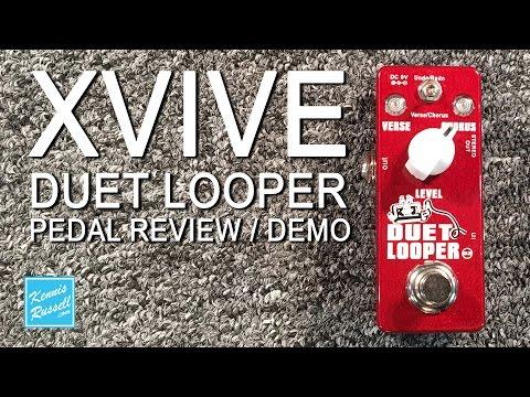 Xvive Duet Looper Pedal Review / Demo