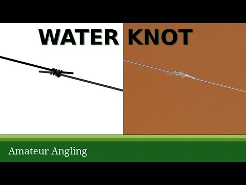 How to tie five good fishing knots - Amateur Angling