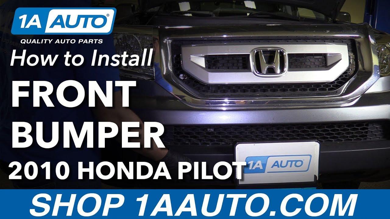 How To Remove Front Bumper 09 15 Honda Pilot