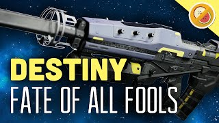 DESTINY Fate of All Fools Gameplay Fully Upgraded Exotic Scout Rifle (Funny Moments)
