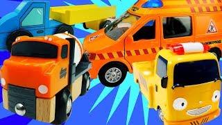 Машинки все серии подряд — Сборник машины-помощники