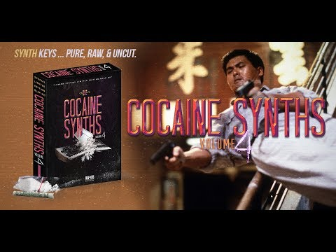 NEW Sample Pack for music producers - Cocaine Synths Volume 4