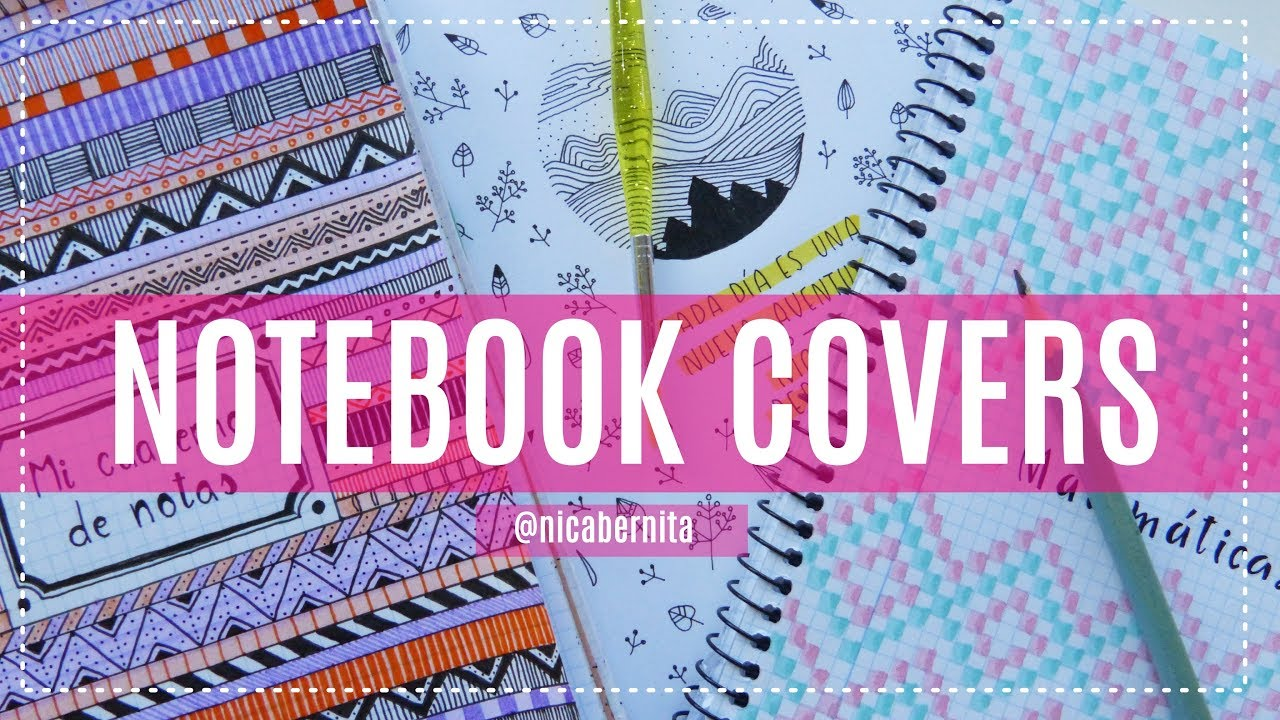 Front Page Design For Notebook Project File Cover Ideas Easy