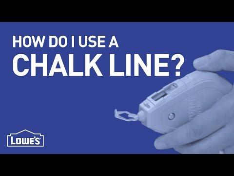 How Do I Use A Chalk Line? | DIY Basics