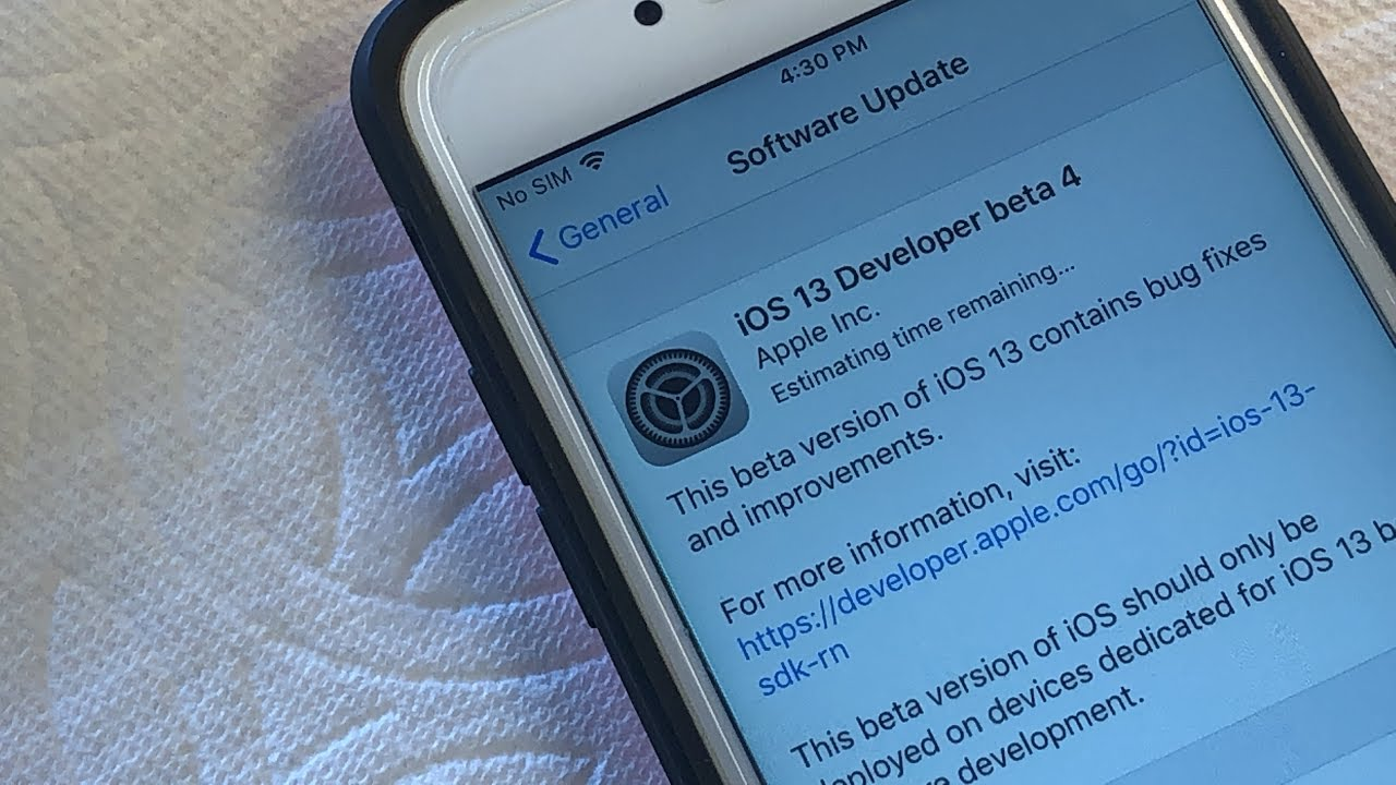How to Install iOS 13 Beta 4 WITHOUT Developer Account 1000% FREE
