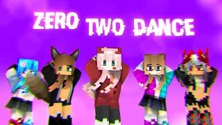 Phút Hơn - Zero Two Dance (Minecraft animation) [Template free]