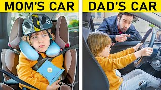 Mom vs Dad / 17 Funny Situations