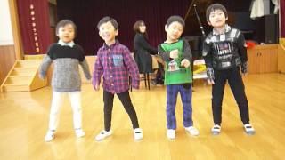 徳島の音楽教室メロディアの発表会の練習風景です。4人とも2016年春か...