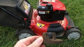 Troy Bilt  Lawn Mower Replacing a Broken Blade Adapter 675 Series - Mar. 7, 2016