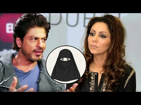 Thumbnail: When Shahrukh Khan Told Gauri To Wear A BURKHA & Change Her Name To AYESHA