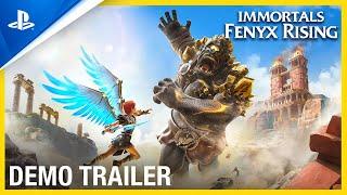 Immortals Fenyx Rising - Official Demo Trailer | PS5, PS4