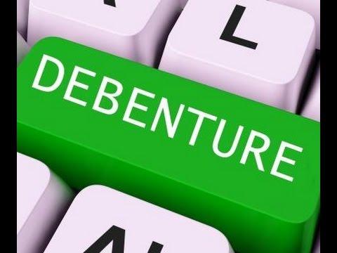 What is a Debentures?