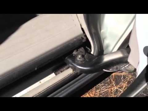 Honda Odyssey Power Sliding Door Problem Youtube