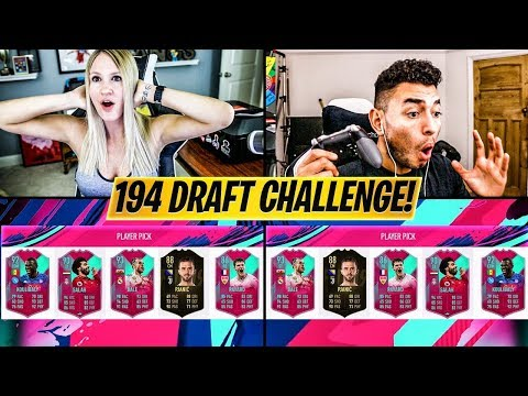 194 RATED FUT DRAFT CHALLENGE vs Oakelfish!! FIFA 19 Ultimate Team