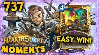 CALL TO WINS...!! | Hearthstone Daily Moments Ep. 737