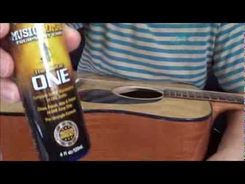 """""""Music Nomad The Guitar One"""" on Cleaning and Polishing Takamine Acoustic Guitar"""
