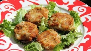 Sweet Potato Crab Cakes Recipe.
