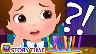 The Drawing Competition - ChuChuTV Storytime Good Habits Bedtime Stories for Kids