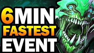 DOTA 2 SILTBREAKER ACT 1 - WORLD RECORD - FASTEST WIN 6 MINUTES !! GAMEPLAY BUG