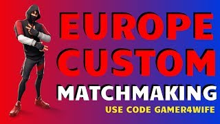 CUSTOM MATCHMAKING EU | FORTNITE LIVE GIFTING SKINS ON SUNDAY (Fortnite battle royale)