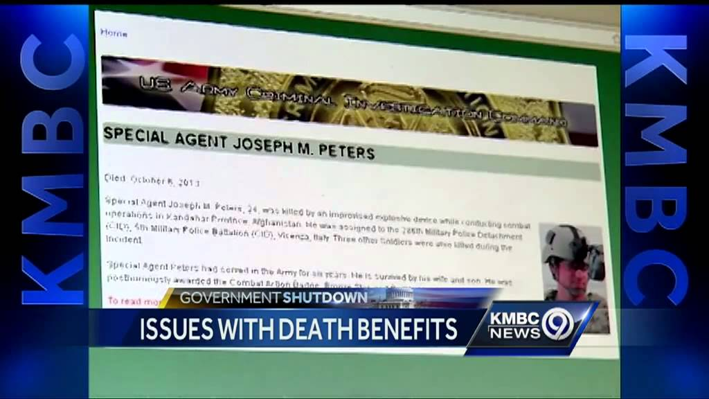 Fallen soldier's family finds death benefits on hold