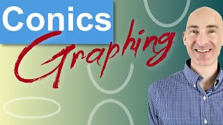 Conic Sections: Hyperbolas, Ellipses, Parabolas, Circles (How to Graph)